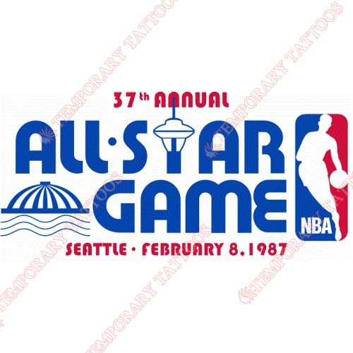 NBA All Star Game Customize Temporary Tattoos Stickers NO.873