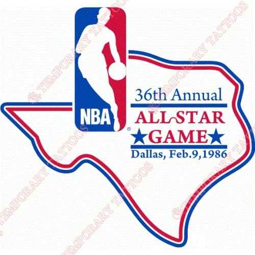 NBA All Star Game Customize Temporary Tattoos Stickers NO.874