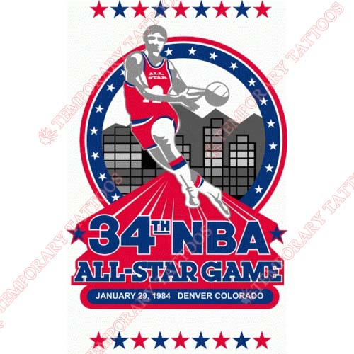NBA All Star Game Customize Temporary Tattoos Stickers NO.875