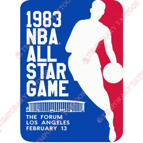NBA All Star Game Customize Temporary Tattoos Stickers NO.876