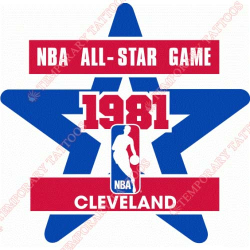 NBA All Star Game Customize Temporary Tattoos Stickers NO.877