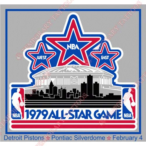 NBA All Star Game Customize Temporary Tattoos Stickers NO.878
