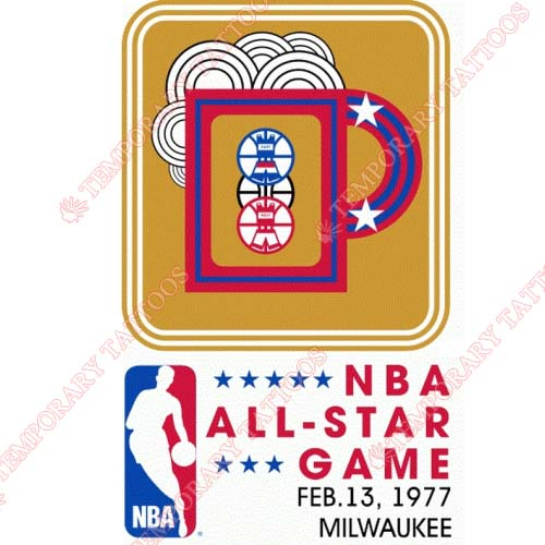 NBA All Star Game Customize Temporary Tattoos Stickers NO.879
