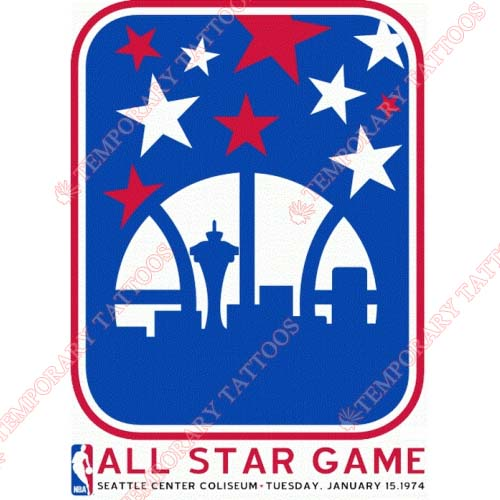 NBA All Star Game Customize Temporary Tattoos Stickers NO.882