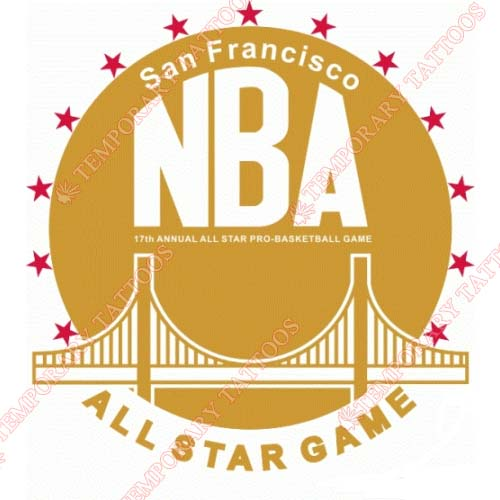 NBA All Star Game Customize Temporary Tattoos Stickers NO.883