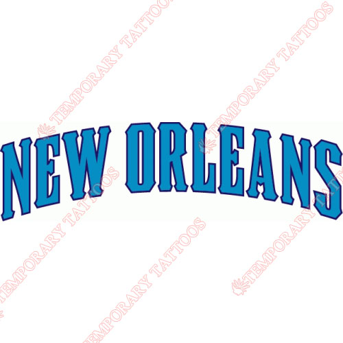 New Orleans Hornets Customize Temporary Tattoos Stickers NO.1108
