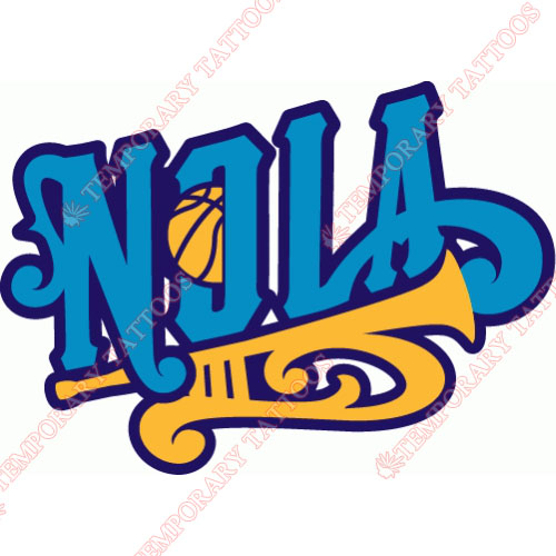 New Orleans Hornets Customize Temporary Tattoos Stickers NO.1110