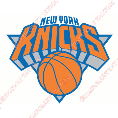 New York Knicks Customize Temporary Tattoos Stickers NO.1120