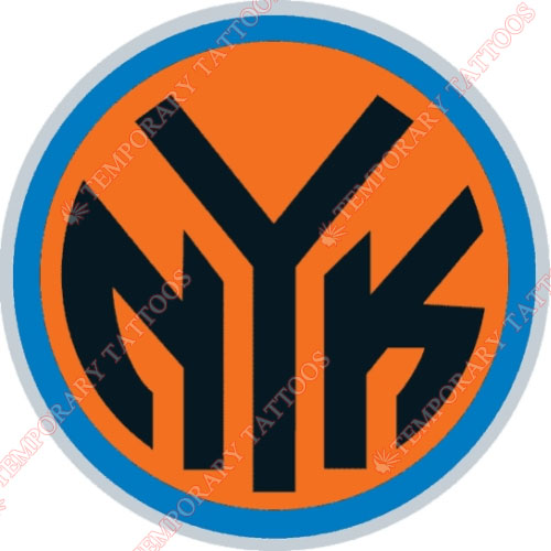 New York Knicks Customize Temporary Tattoos Stickers NO.1125