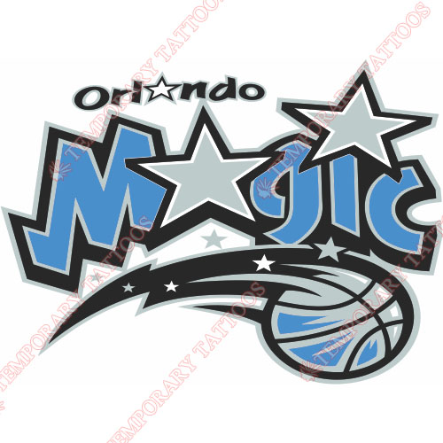 Orlando Magic Customize Temporary Tattoos Stickers NO.1132