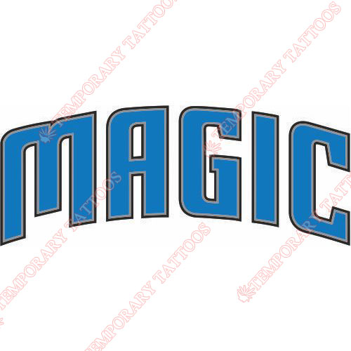 Orlando Magic Customize Temporary Tattoos Stickers NO.1133