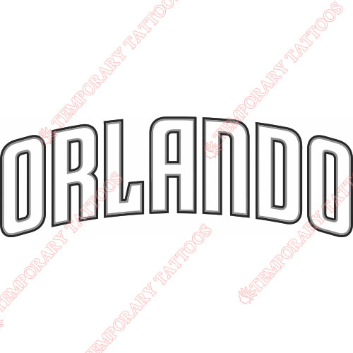 Orlando Magic Customize Temporary Tattoos Stickers NO.1134