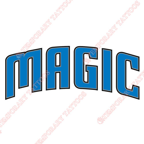 Orlando Magic Customize Temporary Tattoos Stickers NO.1135