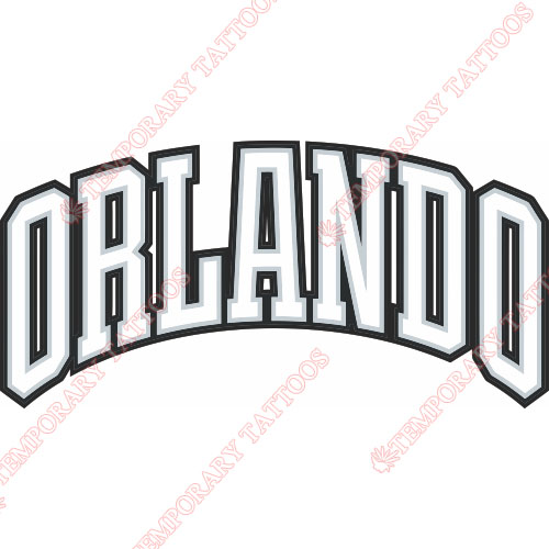 Orlando Magic Customize Temporary Tattoos Stickers NO.1136