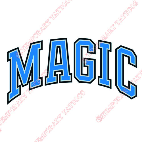 Orlando Magic Customize Temporary Tattoos Stickers NO.1137