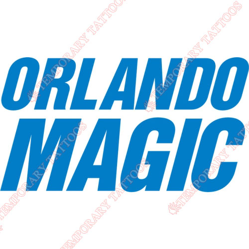 Orlando Magic Customize Temporary Tattoos Stickers NO.1138