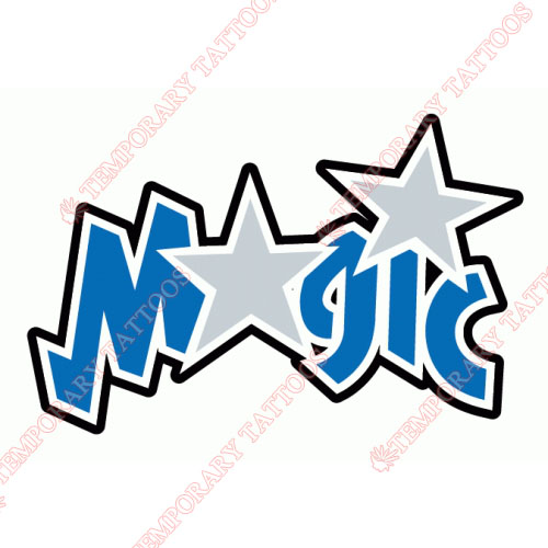 Orlando Magic Customize Temporary Tattoos Stickers NO.1139