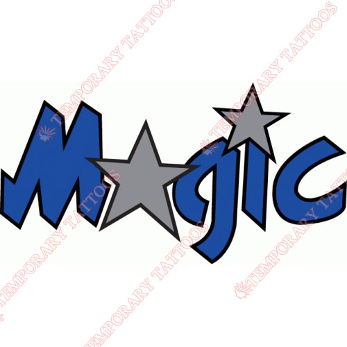 Orlando Magic Customize Temporary Tattoos Stickers NO.1141