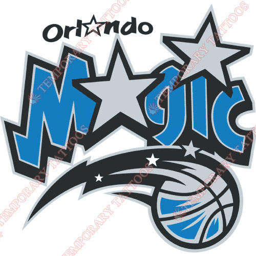 Orlando Magic Customize Temporary Tattoos Stickers NO.1142