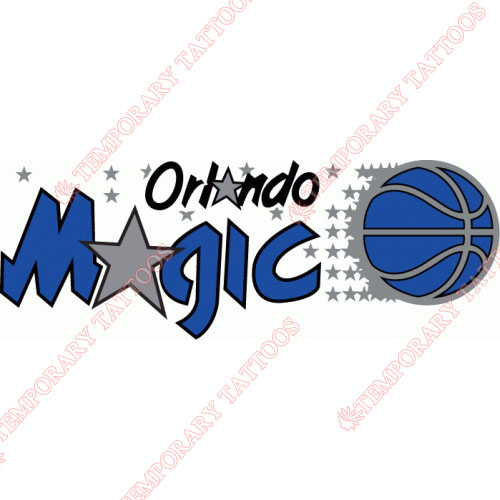 Orlando Magic Customize Temporary Tattoos Stickers NO.1143