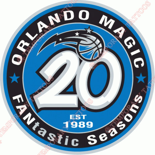 Orlando Magic Customize Temporary Tattoos Stickers NO.1144