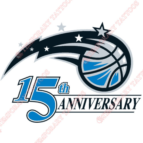 Orlando Magic Customize Temporary Tattoos Stickers NO.1145