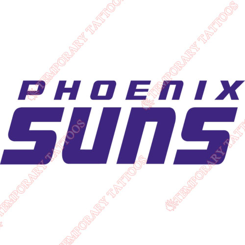 Phoenix Suns Customize Temporary Tattoos Stickers NO.1162