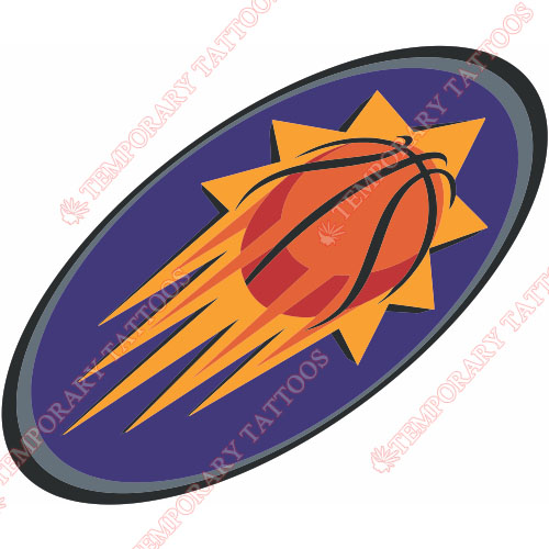 Phoenix Suns Customize Temporary Tattoos Stickers NO.1165