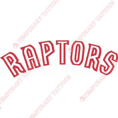 Toronto Raptors Customize Temporary Tattoos Stickers NO.1195