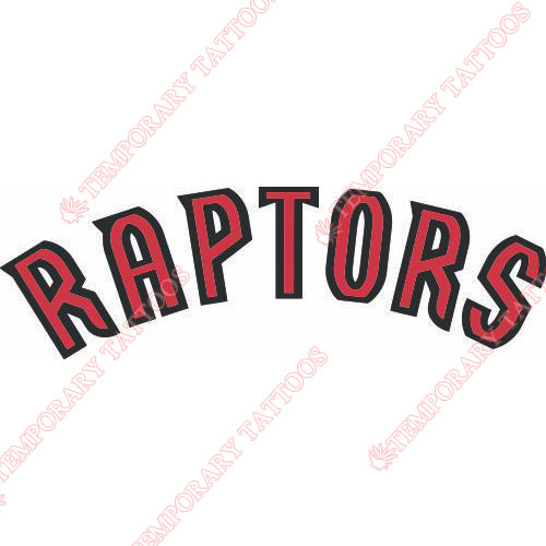 Toronto Raptors Customize Temporary Tattoos Stickers NO.1196