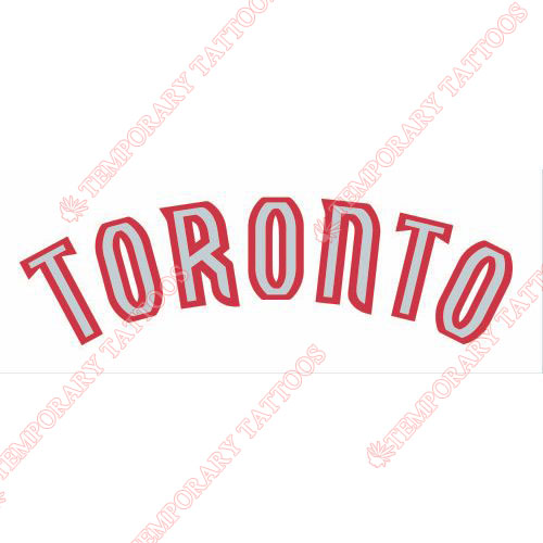 Toronto Raptors Customize Temporary Tattoos Stickers NO.1197