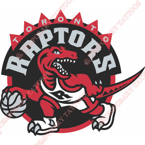 Toronto Raptors Customize Temporary Tattoos Stickers NO.1198