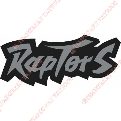 Toronto Raptors Customize Temporary Tattoos Stickers NO.1199