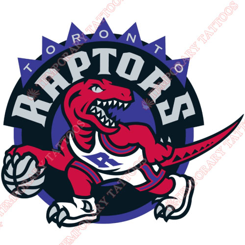 Toronto Raptors Customize Temporary Tattoos Stickers NO.1201