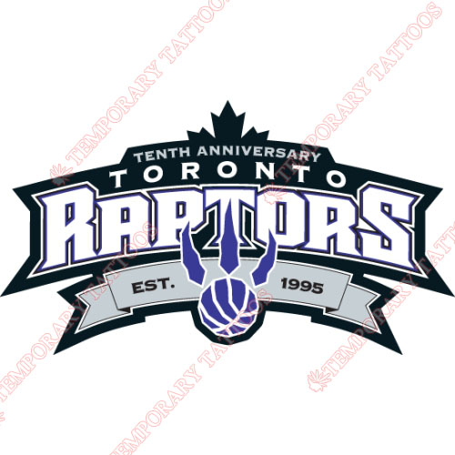 Toronto Raptors Customize Temporary Tattoos Stickers NO.1202