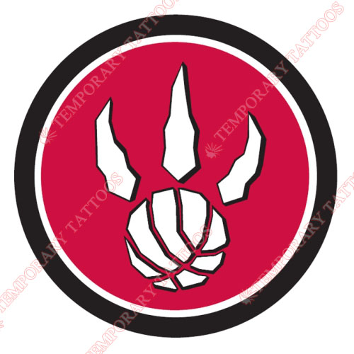 Toronto Raptors Customize Temporary Tattoos Stickers NO.1203