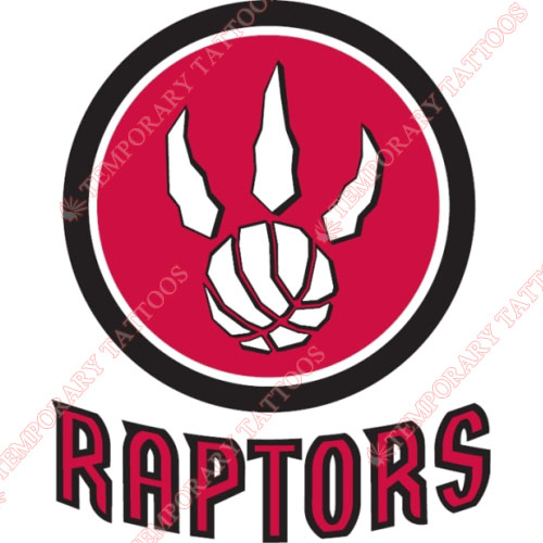 Toronto Raptors Customize Temporary Tattoos Stickers NO.1204