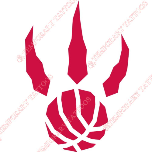 Toronto Raptors Customize Temporary Tattoos Stickers NO.1207