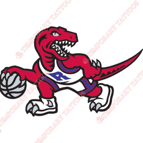 Toronto Raptors Customize Temporary Tattoos Stickers NO.1208