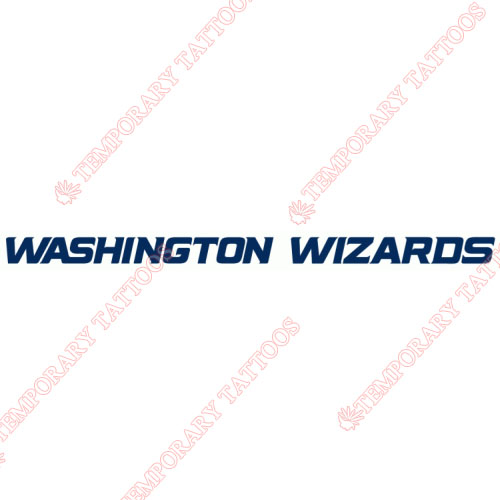 Washington Wizards Customize Temporary Tattoos Stickers NO.1231