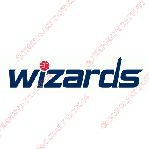 Washington Wizards Customize Temporary Tattoos Stickers NO.1234