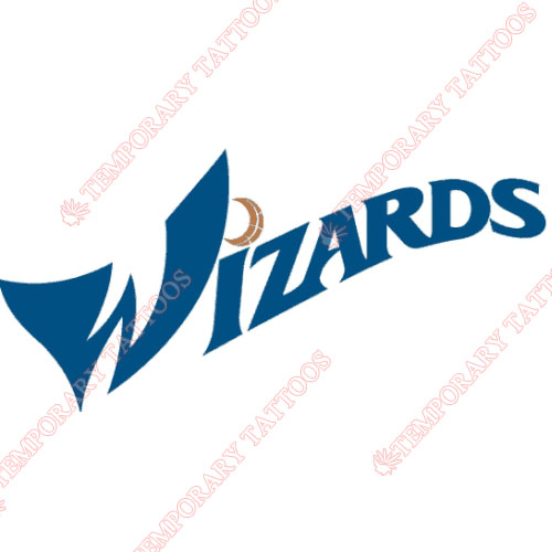 Washington Wizards Customize Temporary Tattoos Stickers NO.1235