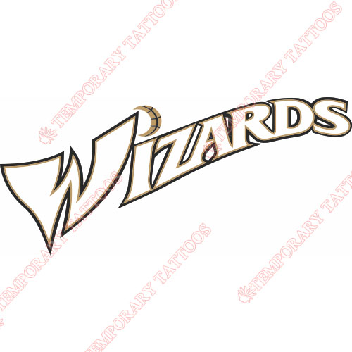 Washington Wizards Customize Temporary Tattoos Stickers NO.1236
