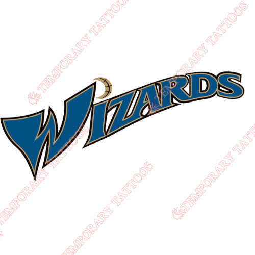 Washington Wizards Customize Temporary Tattoos Stickers NO.1237