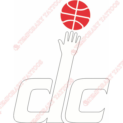 Washington Wizards Customize Temporary Tattoos Stickers NO.1240