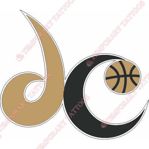 Washington Wizards Customize Temporary Tattoos Stickers NO.1243