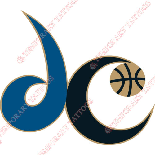 Washington Wizards Customize Temporary Tattoos Stickers NO.1244
