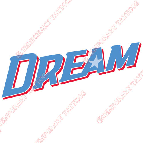 Atlanta Dream Customize Temporary Tattoos Stickers NO.8537