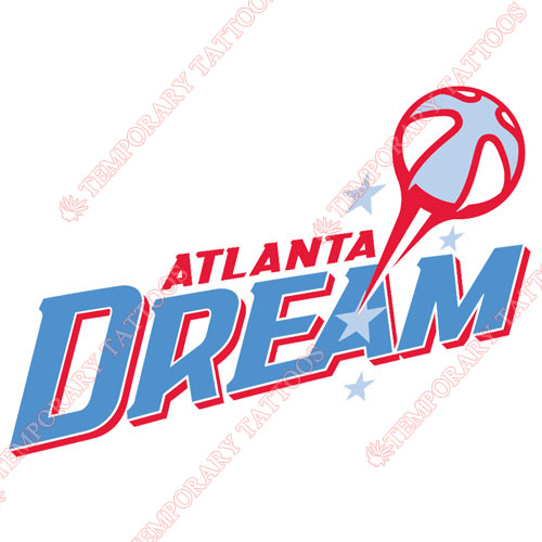Atlanta Dream Customize Temporary Tattoos Stickers NO.8540