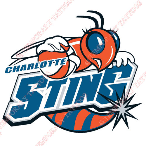 Charlotte Sting Customize Temporary Tattoos Stickers NO.8542